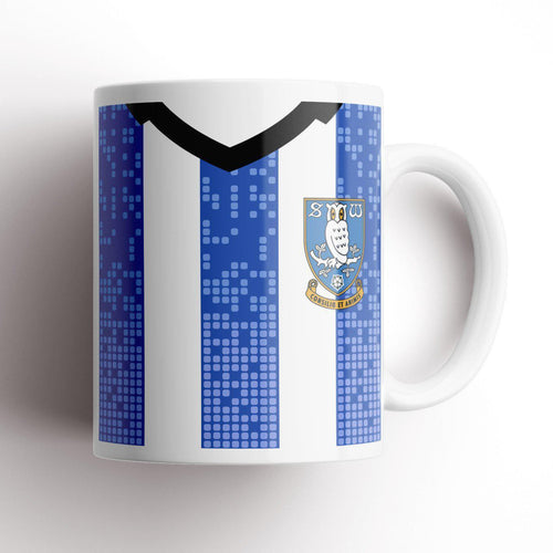 Official Sheffield Wednesday 19/20 Home Mug-Mugs-The Terrace Store