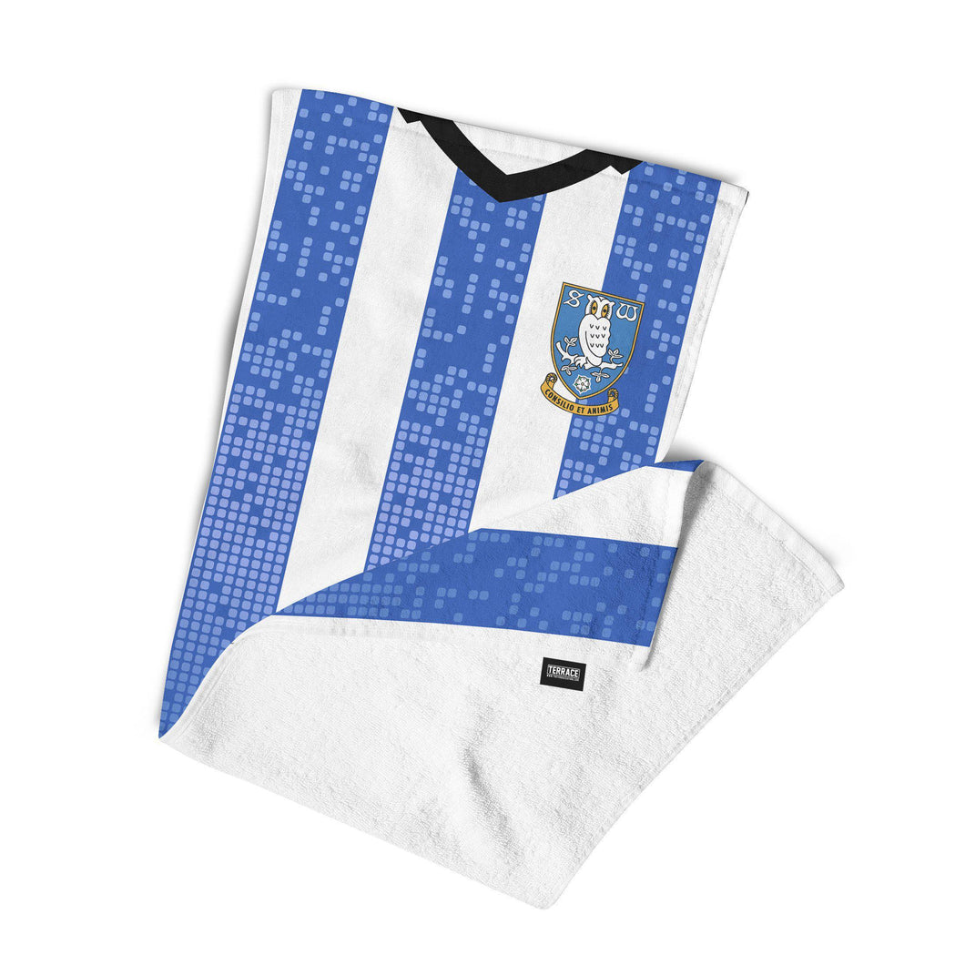 Official Sheffield Wednesday 19/20 Home Towel-Towels-The Terrace Store