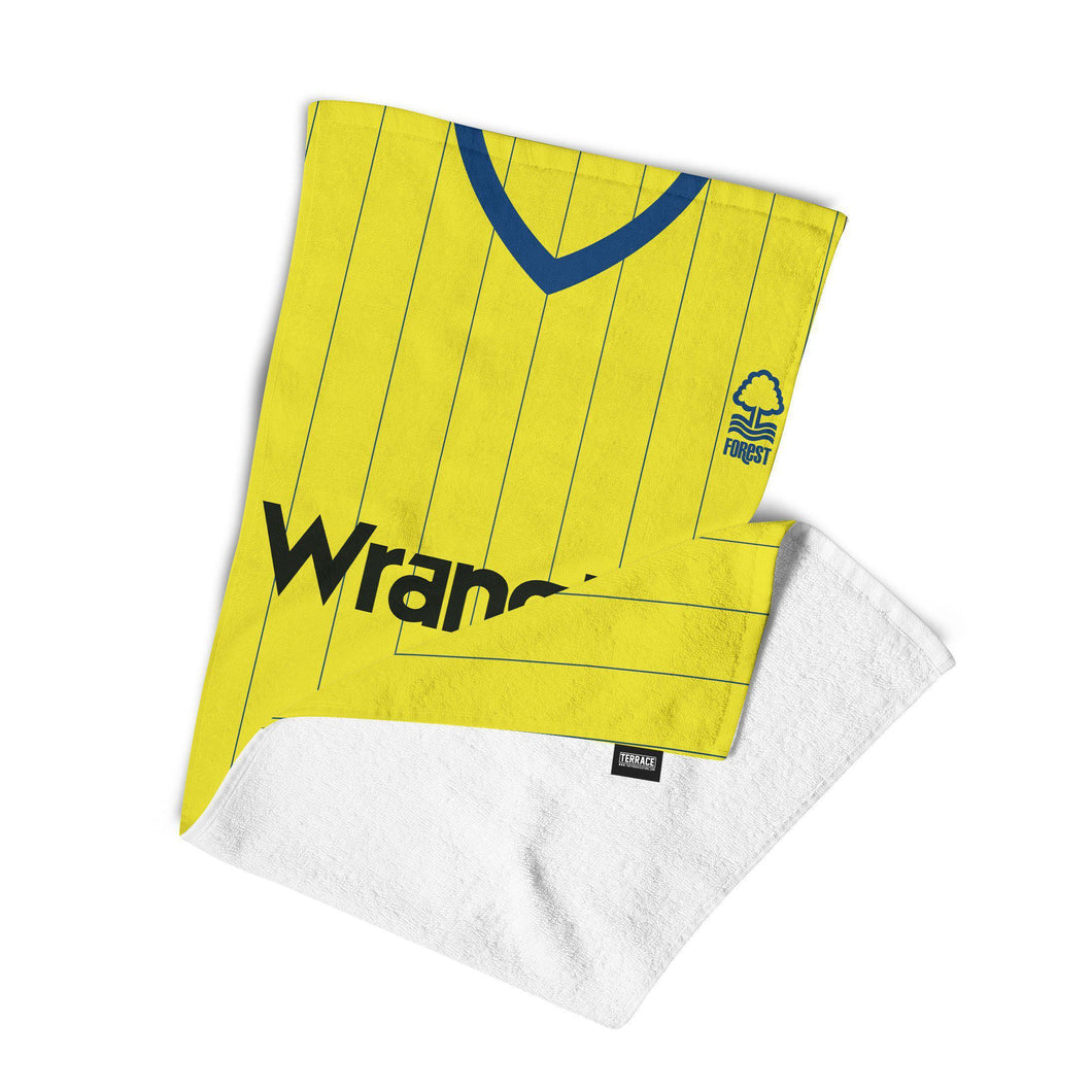 Nottingham Forest 1982 Away Kit Towel