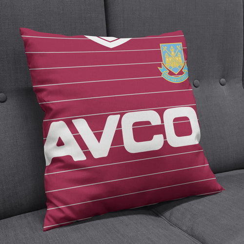 West Ham United 1986 Kit Cushion-Cushions-The Terrace Store