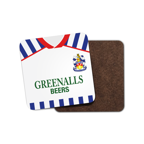 Huddersfield Town 1988 Home Coaster-Coaster-The Terrace Store
