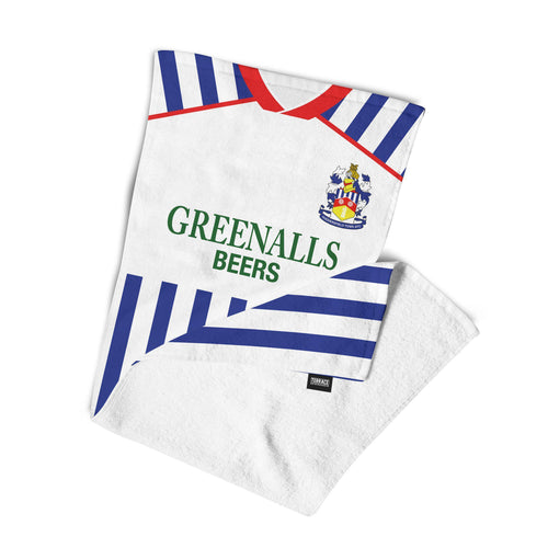 Huddersfield Town 1988 Home Beach Towel-Towels-The Terrace Store