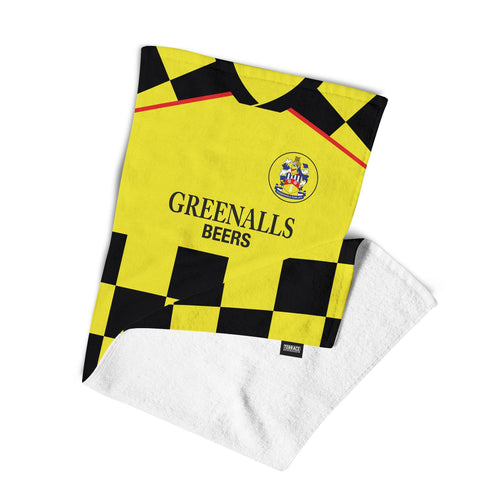 Huddersfield Town 1988 Away Beach Towel-Towels-The Terrace Store
