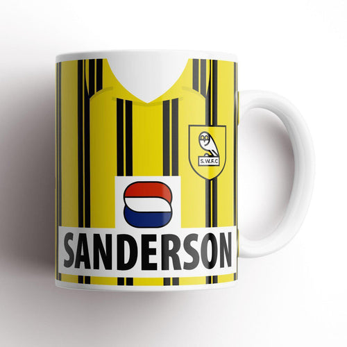 Official Sheffield Wednesday '93 Away Mug-Mugs-The Terrace Store