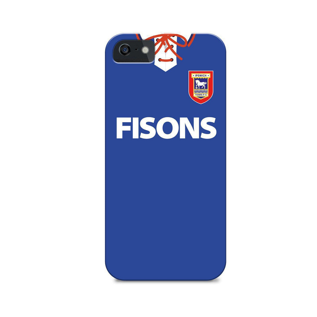 Ipswich Town 1993 Home Phone Case-CASES-The Terrace Store
