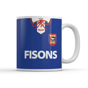 Ipswich Town 1993 Home Kit Mug-Mugs-The Terrace Store