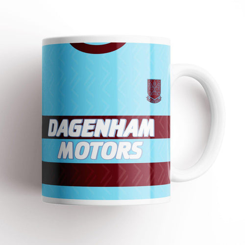 West Ham United 1994 Away Kit Mug