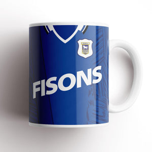 Ipswich Town 1995 Home Kit Mug-Mugs-The Terrace Store