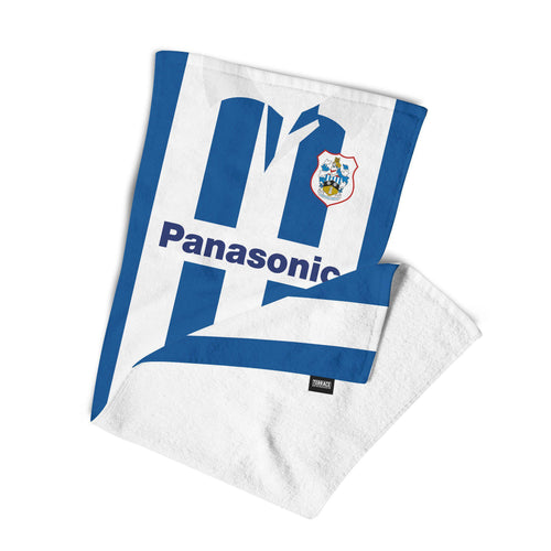 Huddersfield Town 1997 Home Beach Towel-Towels-The Terrace Store