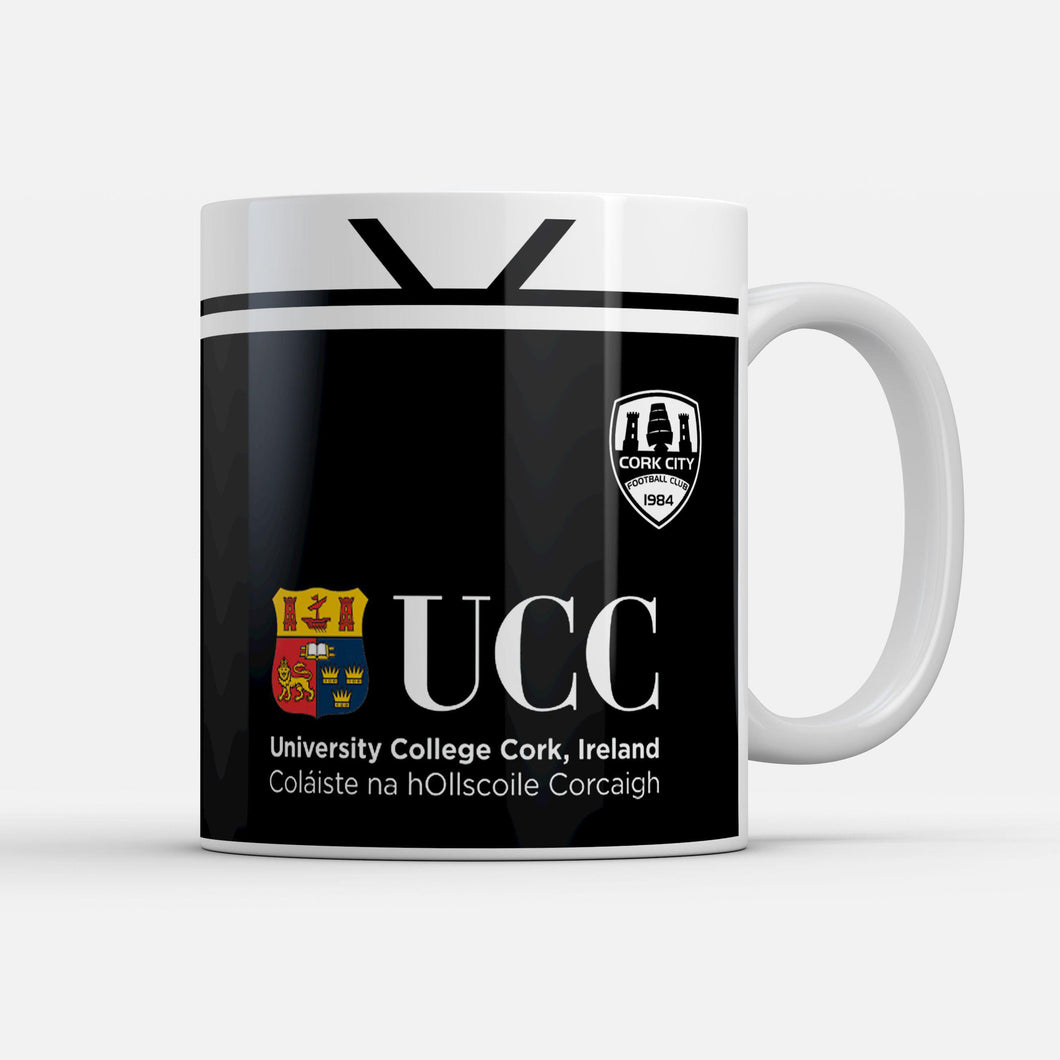 Cork City 2019 Away Retro Inspired Mug-Mugs-The Terrace Store