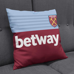 West Ham United 2019-20 Kit Cushion-Cushions-The Terrace Store
