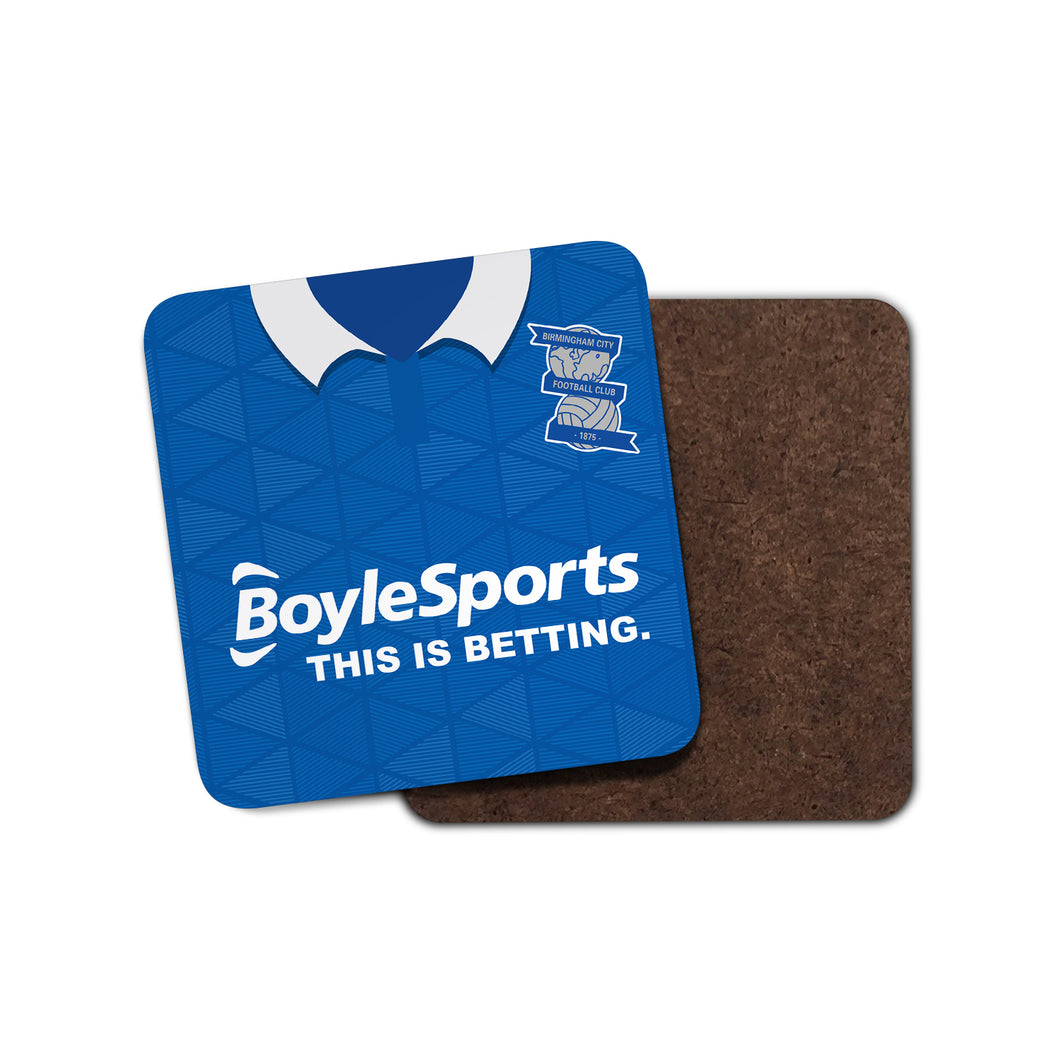 Birmingham City 2021 Home Coaster