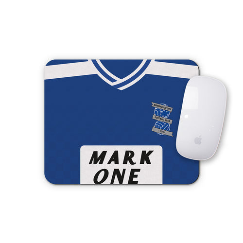 Birmingham City 1990 Home Mouse Mat