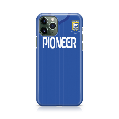 Ipswich Town 1981/82 Home Phone Case-CASES-The Terrace Store