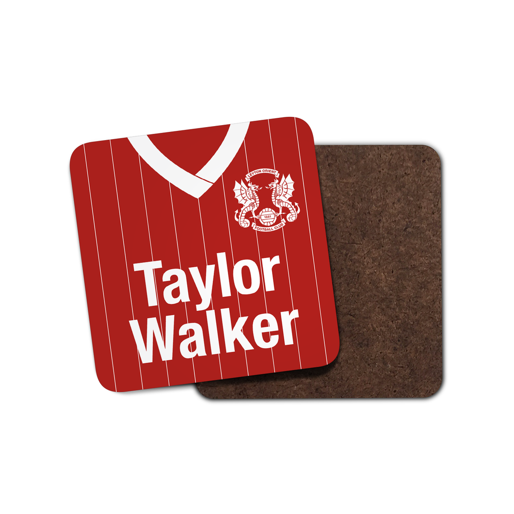 Leyton Orient 1982 Home Coaster-Coaster-The Terrace Store