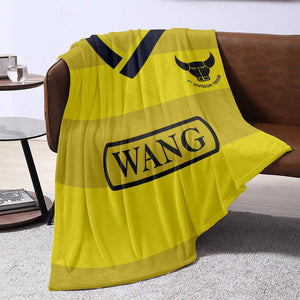 Oxford United 1986 Home Blanket Throw