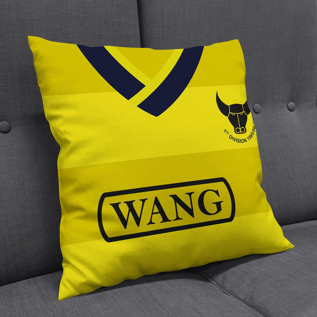 Oxford United 1986 Home Cushion-Cushions-The Terrace Store
