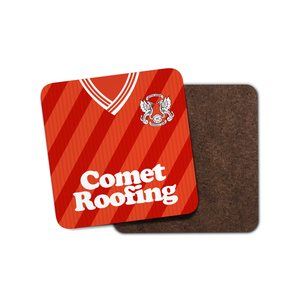 Leyton Orient 1989 Home Coaster-Coaster-The Terrace Store