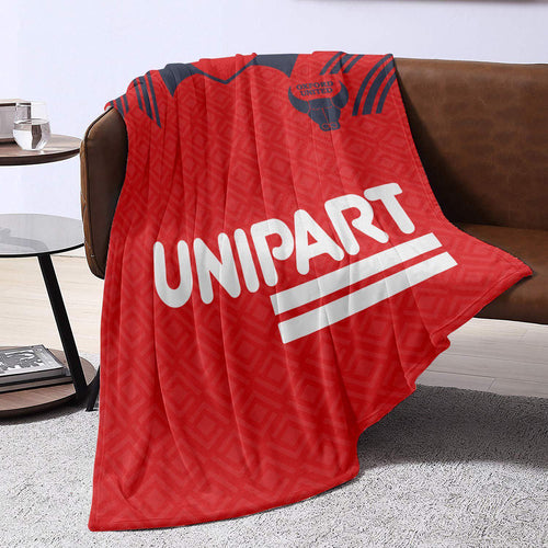 Oxford United 1991 Away Blanket Throw-Blanket-The Terrace Store