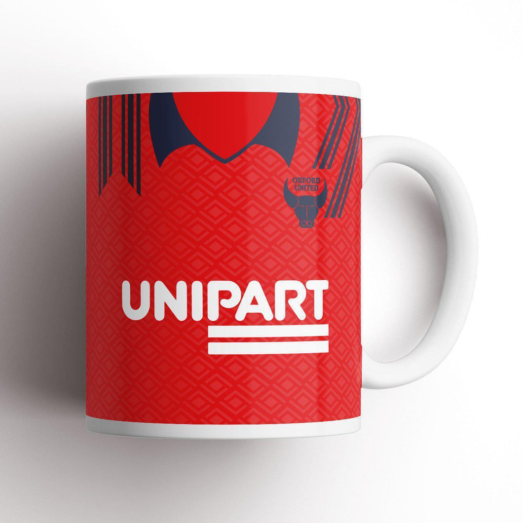 Oxford United 1991 Away Mug