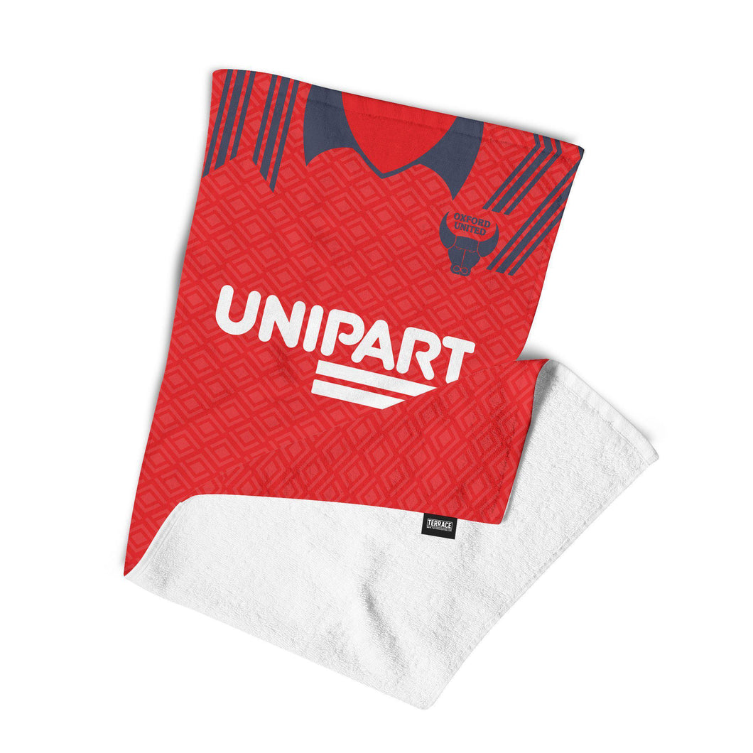 Oxford United 1991 Away Towel-Towels-The Terrace Store
