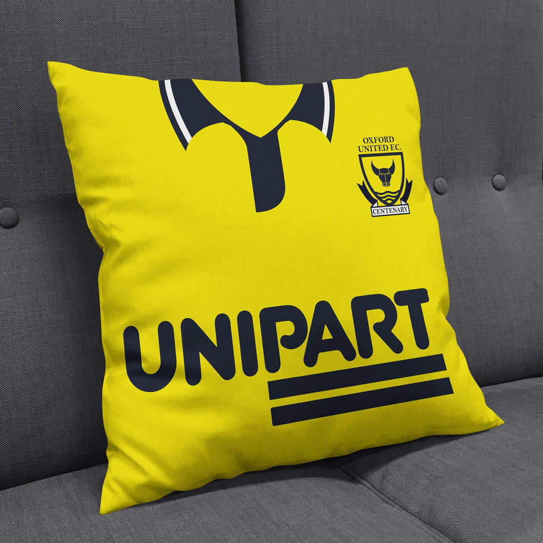 Oxford United 1993 Home Cushion-Cushions-The Terrace Store