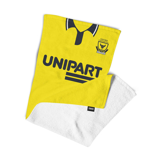 Oxford United 1993 Home Towel-Towels-The Terrace Store