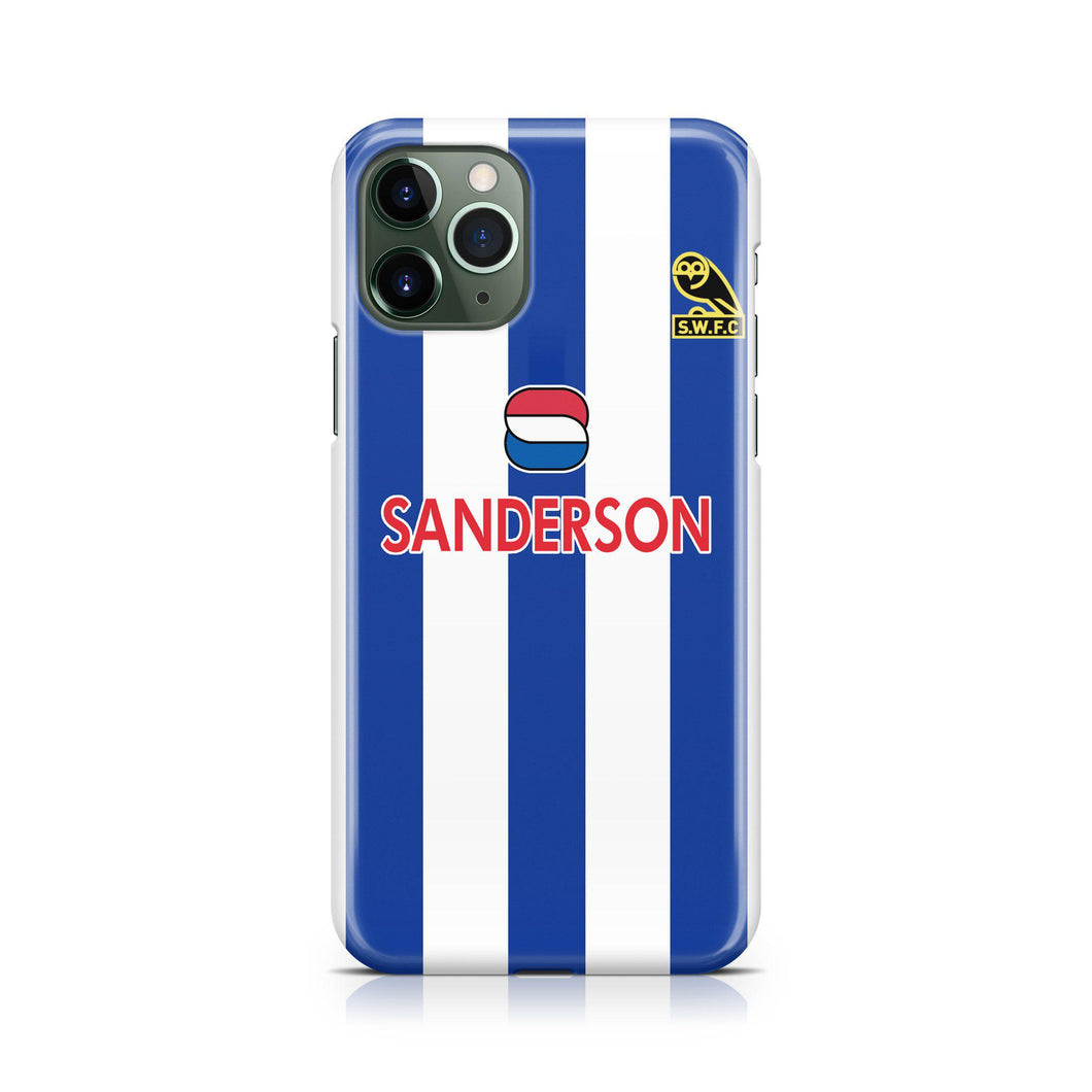 Sheffield Wednesday 1994 Home Phone Case