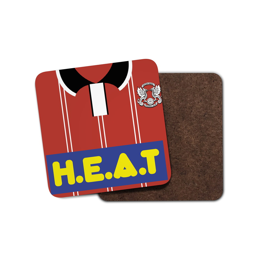 Leyton Orient 1995 Home Coaster-Coaster-The Terrace Store