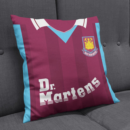 West Ham United 1999 Kit Cushion-Cushions-The Terrace Store
