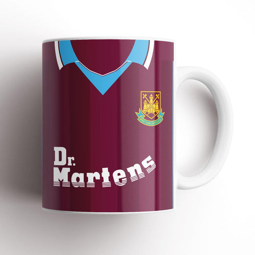 West Ham United 1999 Kit Mug-Mugs-The Terrace Store