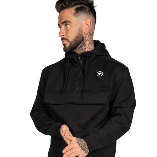 Terrace Half Zip Pullover - Black