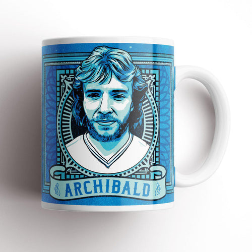 Grady Draws Spurs Archibald Mug