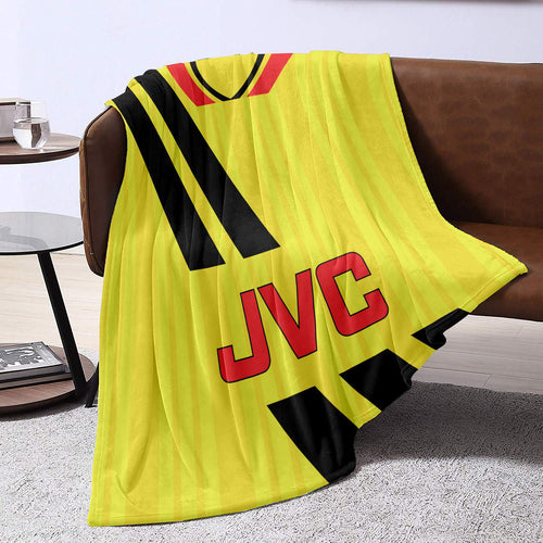 Arsenal 1994  Away Retro Blanket Throw