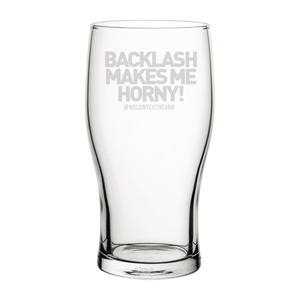 Backlash Engraved Pint Glass-NCH MUG-The Terrace Store