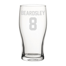 Load image into Gallery viewer, Newcastle Beardsley 8 Engraved Pint Glass-Engraved-The Terrace Store