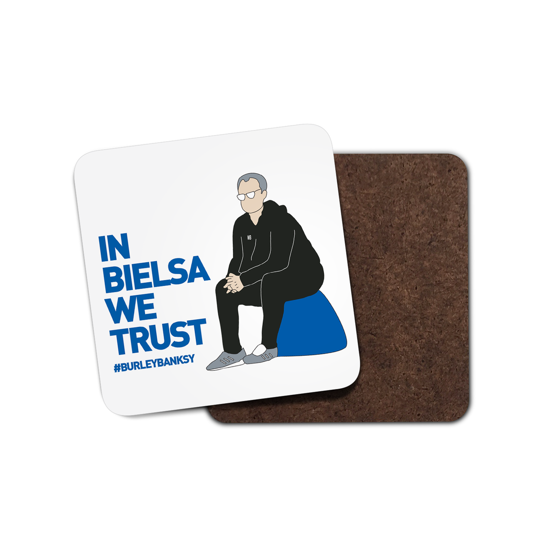 Burley Banksy In Bielsa We Trust Coaster