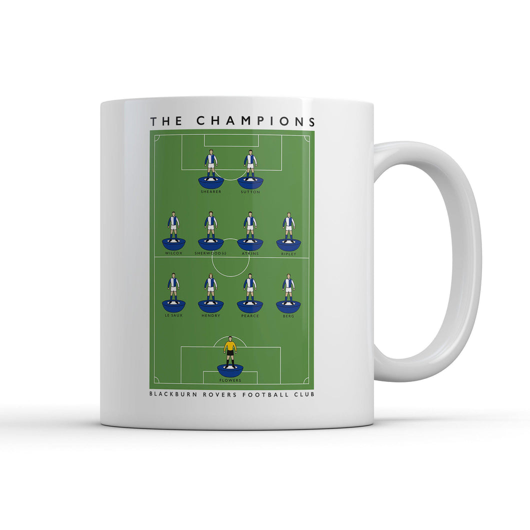 Blackburn Champions Mug-Legends Mug-The Terrace Store