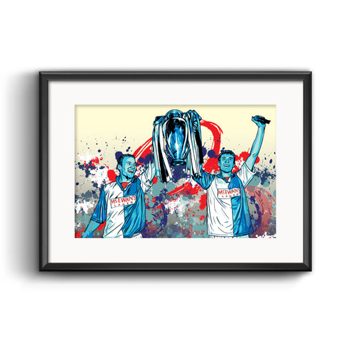 Blackburn Rovers Champions Print