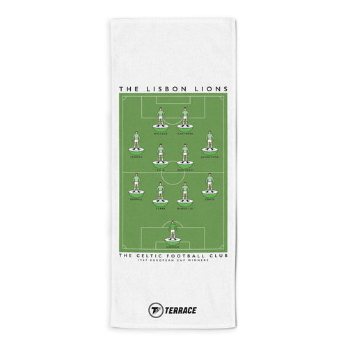 Celtic Lisbon Lions Towel - The Terrace Store
