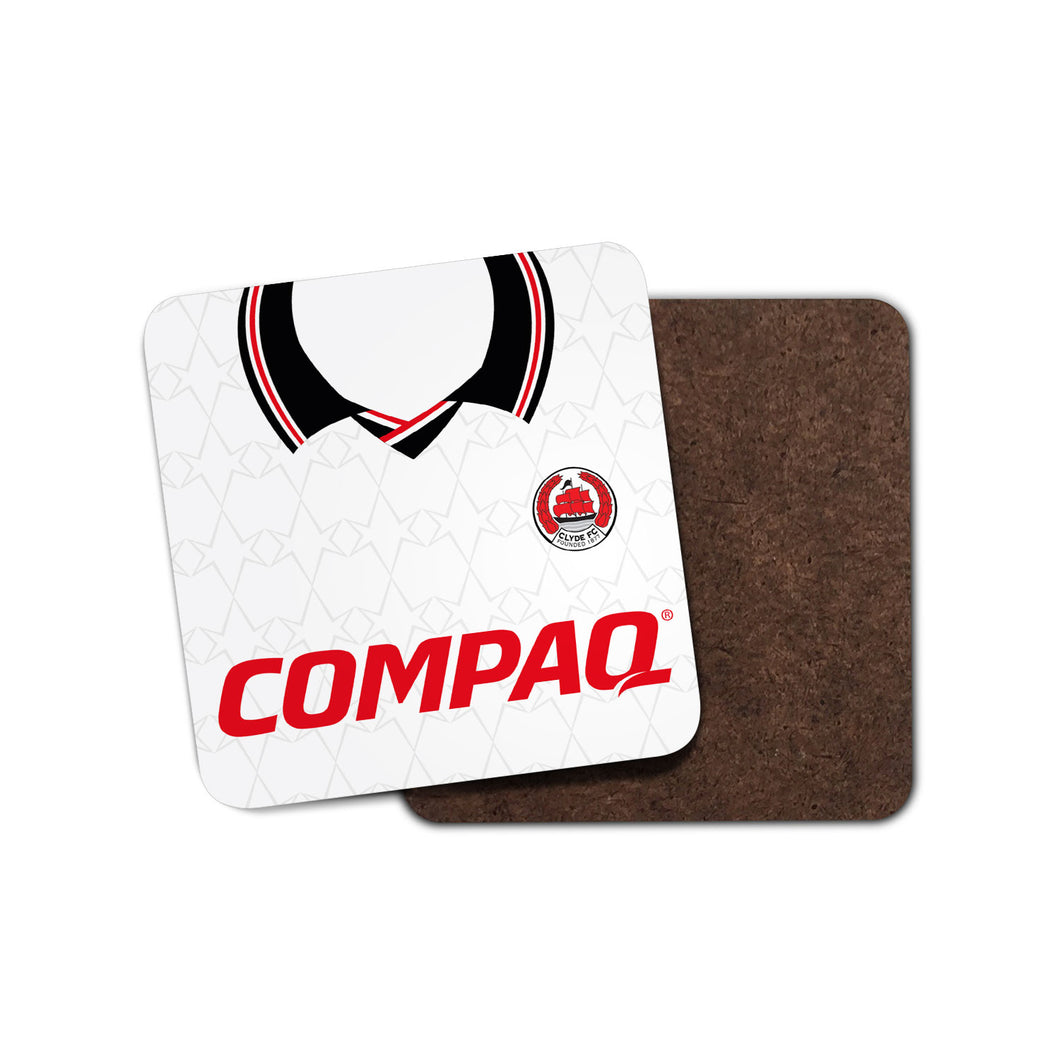 Clyde FC 2002 Home Coaster