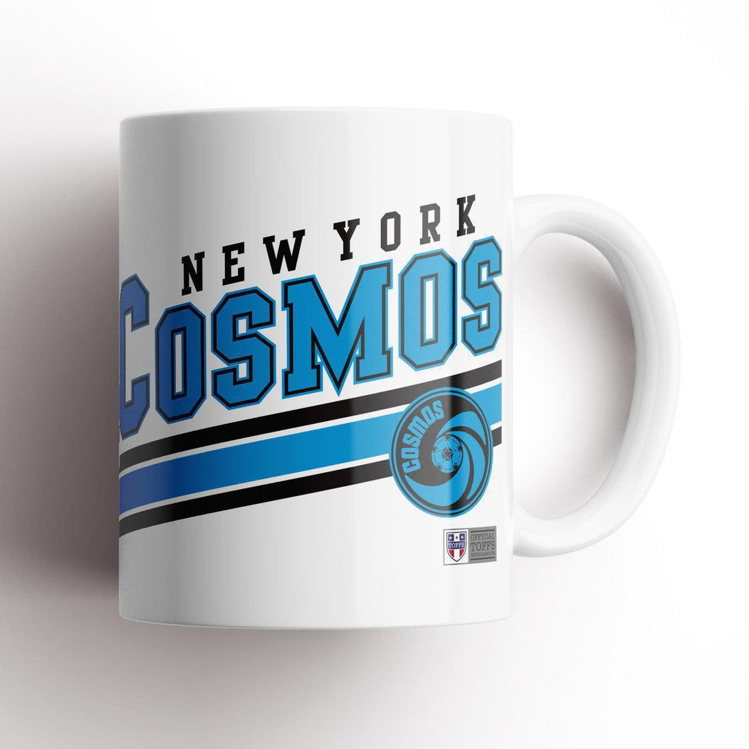 New York Cosmos Slant Mug-Mugs-The Terrace Store