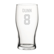 Load image into Gallery viewer, Blackburn Dunn 8 Engraved Pint Glass-Engraved-The Terrace Store