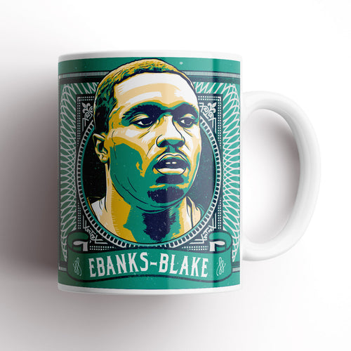 Plymouth Argyle Ebanks-Blake mug