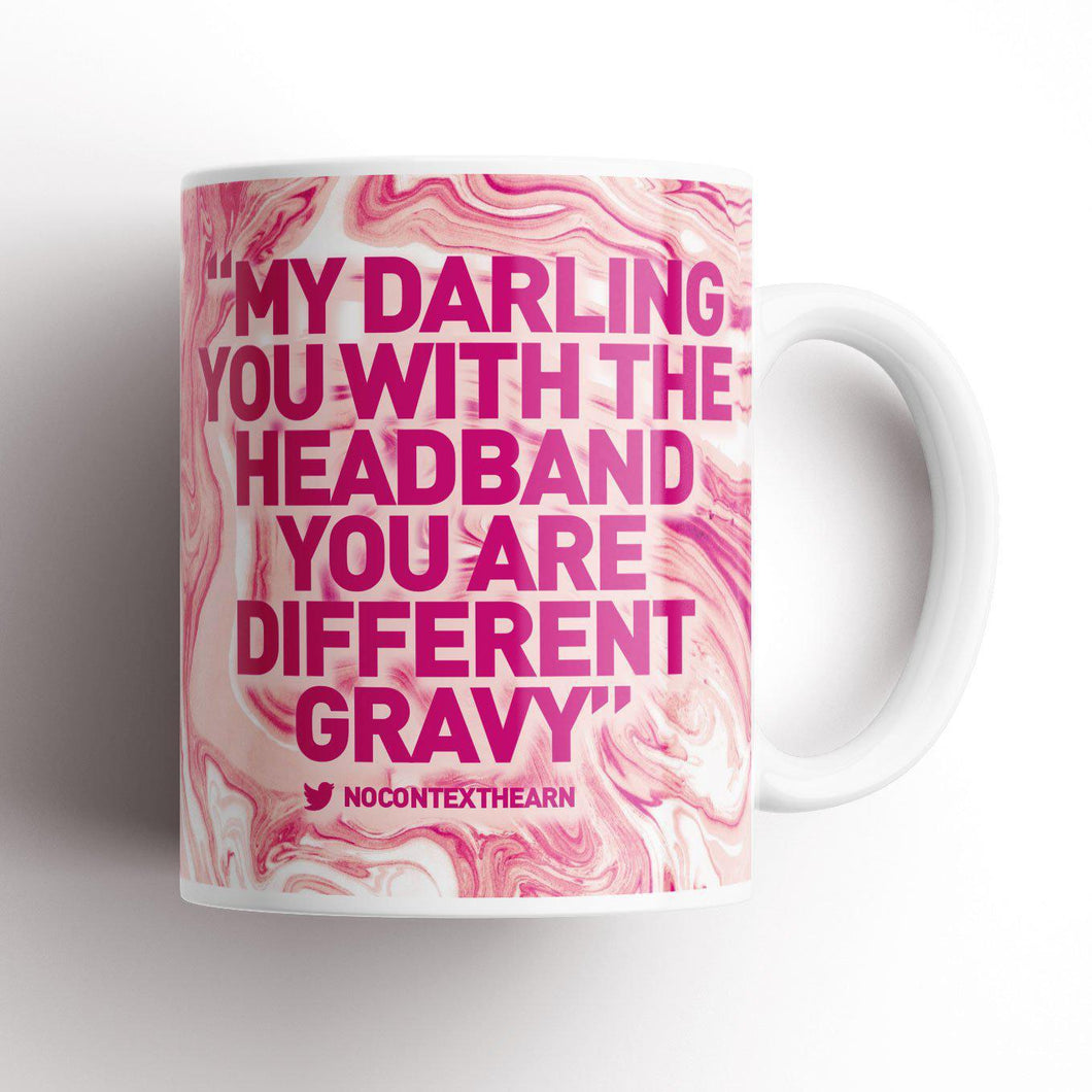 Different Gravy Marble Edition Mug-NCH MUG-The Terrace Store