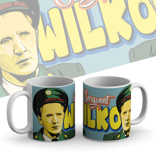Grady Draws Sgt Wilko Mug