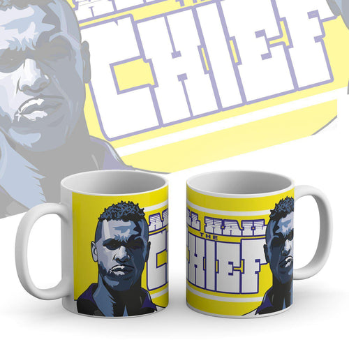 Grady Draws All Hail The Chief Mug