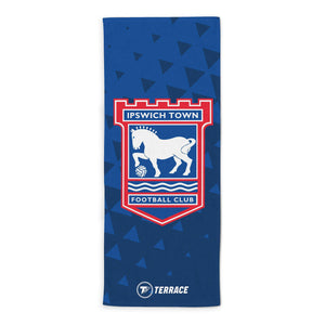 Ipswich Town Club Badge Beach Towel-Towels-The Terrace Store