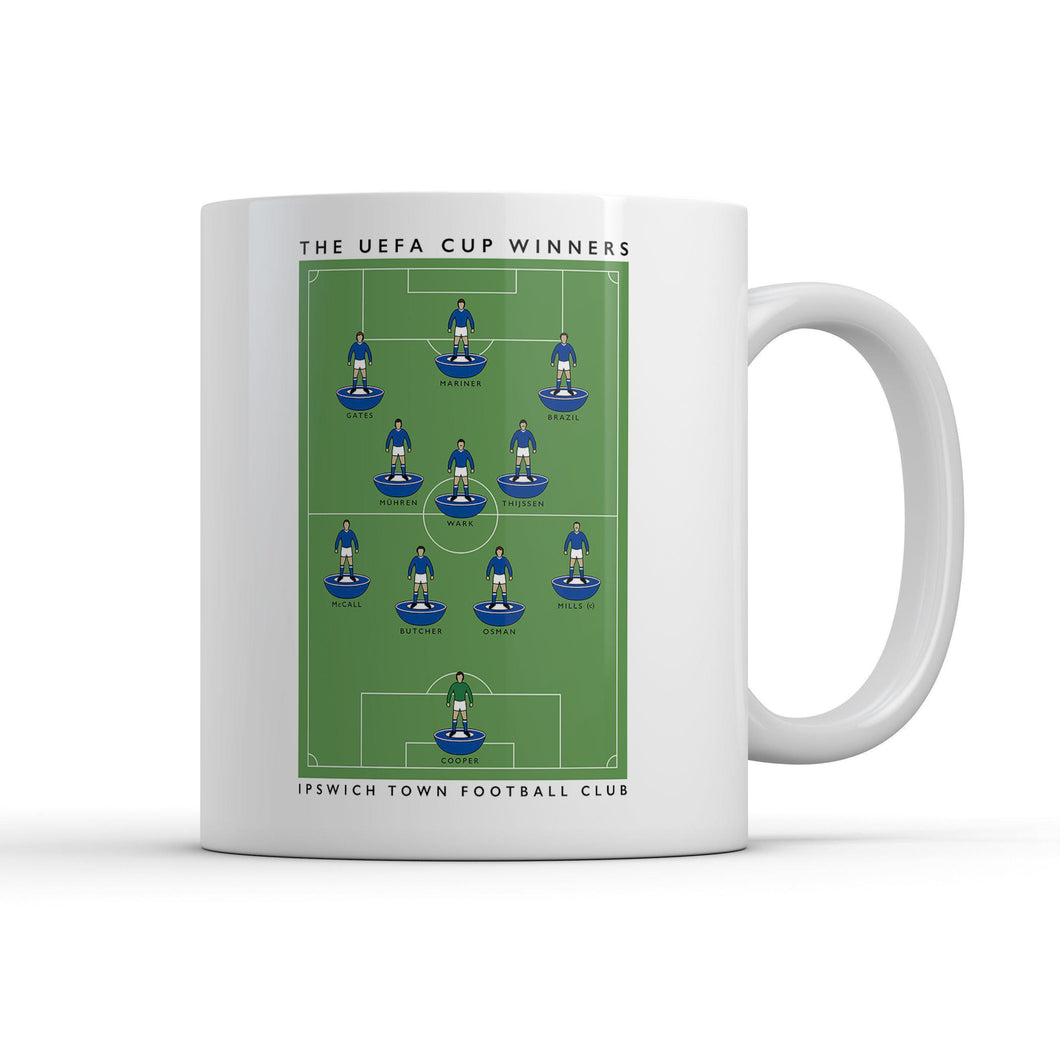 Ipswich Uefa Cup Mug-Legends Mug-The Terrace Store