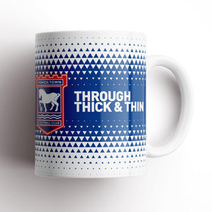 Ipswich Town Thick and Thin Mug-Mugs-The Terrace Store